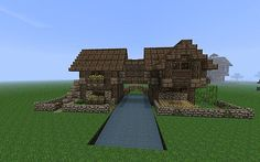 Bolvark's Medieval Buildng Bundle - 17 Schematics/World Save! Minecraft Project