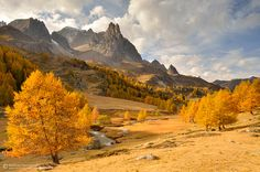 "Autumn splendor -  ""Vallée de la Clarée"", French Alps,  by matthieu-parmentier.deviantart.com on @deviantART"