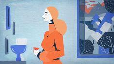 """""""Un instant"""" écrit par Claude Roy, réalisé dans le cadre du programme """"En sortant de l'école"""", produit pas Tant mieux Prod France télévision et Studio Tchack   Réalisatrice : Roxane Campoy Voix : Céline Ronté Musique : Yan Volsi  Renfort animation : Nicolas Rubio"""