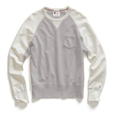 Contrast Sleeve Sweatshirt   Huckberry