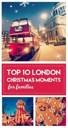 The top 10 Christmas Moments for Families in the UK's capital city. Inspired by Pinterest @visitlondon have created the best things to do this festive season – from ice skating to visiting Southbank Centre's Christmas Market.