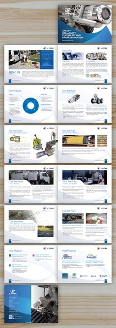 Franchise Info Booklet by YaseenArt Business Design Pinterest