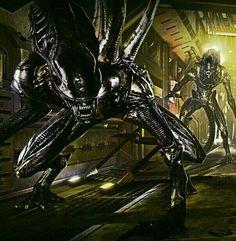 Alien Pictures, Alien Pics, Giger Alien, Hr Giger, Caricatures, Alien Covenant, Predator Alien, Aliens Movie, Arkham Knight