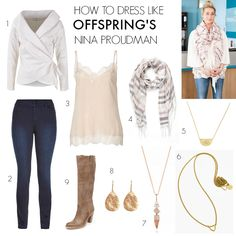We've seen a style shift in Offspring's Nina Proudman's wardrobe in Season 6 of Offspring. With the finale over, I say bring on Season 7.