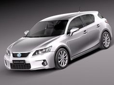 3D Model Lexus Ct 200H 2012 - 3D Model