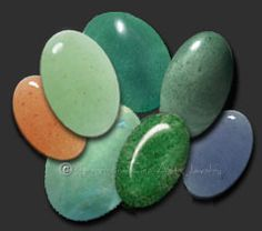 Cabochons,Aventurine is the Star Sign for Libra and the Planetary stone of Taurus.Aventurine is a translucent to opaque variety of microcrystalline quartz. It contains small inclusions of shiny minerals which give the stone a sparkling effect known as aventurescence. Inclusions of mica will give a silverish sheen, while inclusions of hematite give a reddish or grayish sparkle.
