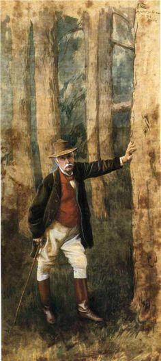 James Tissot - Self-portrait - 1898