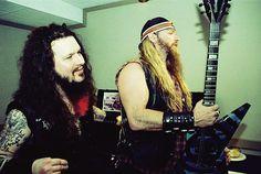 Dimebag Darrell and Zakk Wylde Dimebag Darrell, Rock Couple, Vinnie Paul, Kerry King, Black Label Society, Zakk Wylde, Extreme Metal, Power Metal, Nu Metal