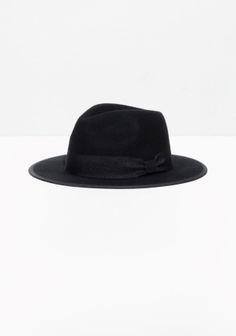 & Other Stories | Wool-Felt Fedora Hat