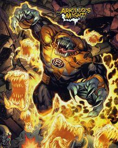 Arkillo of The Sinestro Corps.
