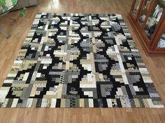 Missouri Quilt Co Log Cabin Quilt Pattern, Log Cabin Quilts, Log Cabins, Star Quilts, Quilt Blocks, Eclectic Quilts, Missouri Quilt, Black And White Quilts, Missouri Star Quilt Tutorials