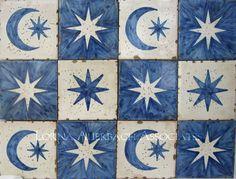 Antique Reproduction Ceramic Tile Spain