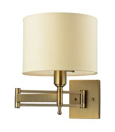 ELK Lighting Pembroke 1- Light Swing Arm In Antique Brass - 10260/1