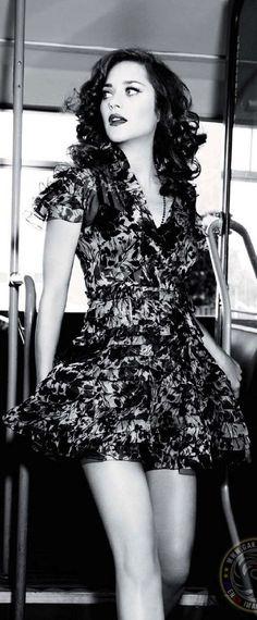 Marion Cotillard photographed by Ellen von Unwerth