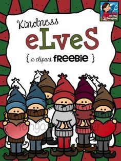 These adorable kindness elves are here to make someone's heart smile! The idea behind the kindness elf is that rather than cause mischief around your classroom or home each year, kids are encouraged to do something nice for someone else! I LOVE this movement!