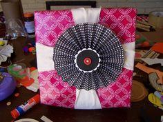Folded fan bow