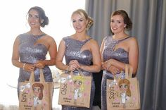 Impressive keepsakend useable wedding gifts for your bride, bridesmaids, flower girls
