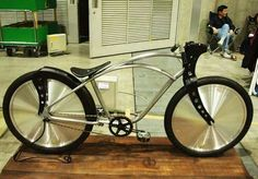 Slick and simple custom bike