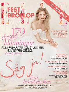 In the need of inspiration for an upcoming wedding? Have a look at the special edition of Swedish ELLE Fest & Bröllup and fall in love with our Dinami Ring!