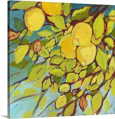 "Canvas ""The Lemons Above"" art"
