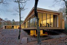 Fantastic Single-storey House: Villa K by ArchitectenCSK
