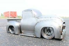 Slammed classic pick up truck metal art welding cold hard art