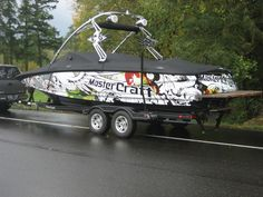 MasterCraft Flying Skull wrap... by Sirlin #boatwraps #wraps ...