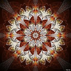 Mandala - art by Marcelo Dalla, via Flickr