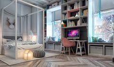 Oryginalny pokój dla nastolatka 5