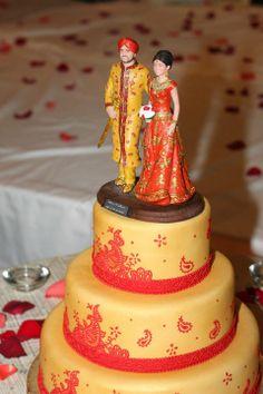 Punjabi Cake Toppers