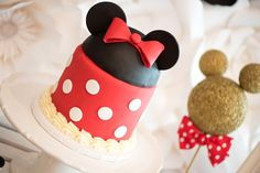 Minnie Mouse cake fr