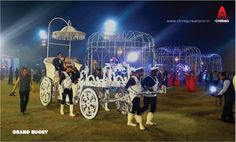 Grand Buggy for BrideGroom Special Venue entry.