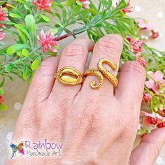 Handmade Art, Handmade Jewelry, Octopus, Shells, Rainbow, Bracelets, Rings, Summer, Gold