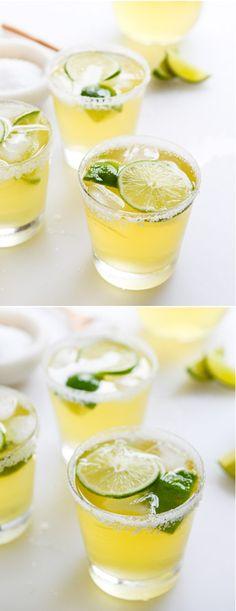 Ginger Beer Margaritas! I howsweeteats.com
