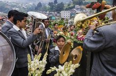 Musicians Playing at a Family Grave Site Photo by Jeremy Woodhouse — National Geographic Your Shot
