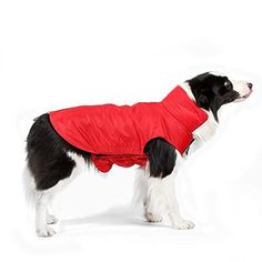 Funkeen Pet Apparel Waterproof Warm Dog Jacket Winter Coat with Harness Hole + Reflective Strips for Small Puppy - Medium Large Dogs - http://www.thepuppy.org/funkeen-pet-apparel-waterproof-warm-dog-jacket-winter-coat-with-harness-hole-reflective-strips-for-small-puppy-medium-large-dogs-4/
