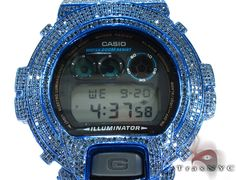 Diamond G-Shock Blue