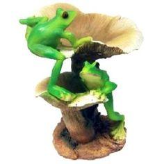Frogs & Mushrooms Bird Feeder MYHOUSEOFGIFTS http://www.amazon.com/dp/B00DJV8R9S/ref=cm_sw_r_pi_dp_rghAvb1YZ91P7