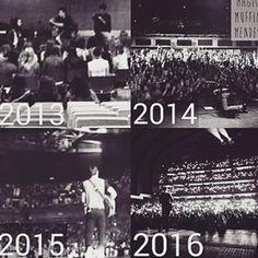 This is a music revolution Esto que si que es un cambio , y un buenisimo y clarísimo ejemplo de superacion y de que Shawn Mendes es el mejor
