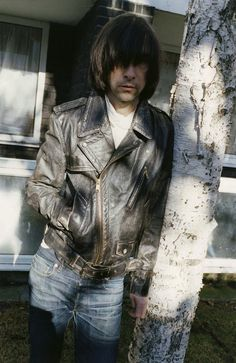 Bobby Gillespie of Primal Scream for Marc Jacobs SS12