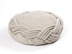 knit cushion - claire-anne o'brien