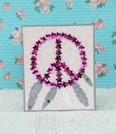 Mollie Makes me Verry Happy. - Décoration, Diy, Tuto Crochet et Papier Mollie Makes, Decoration, Peace And Love, Embellishments, Creations, Diy, Scrapbook, Catcher, Frame