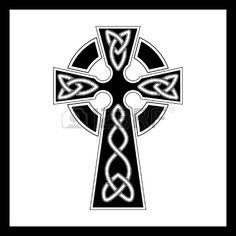 Vecteur croix celtique Banque d'images