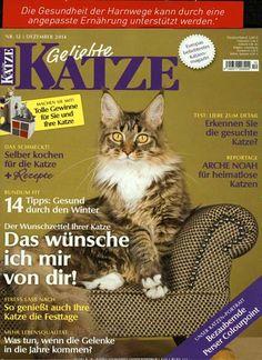 Das schmeckt! Selber kochen für die Katze + Rezepte. Gefunden in: Geliebte Katze, Nr. 12/2014