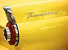 1956 Yellow Thunderbird
