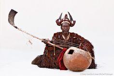 griot (conteur) Mali.