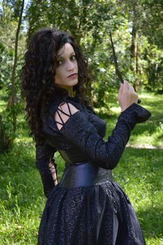 Lancaster Cosplay as Bellatrix Lestrange from Harry Potter
