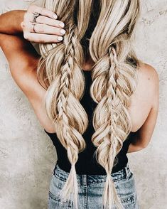 28 Easy Hairstyles Will Make You Look Awesome - #hairstyle #hairstyles Braids
