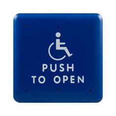 Bea Square handicap door push button box