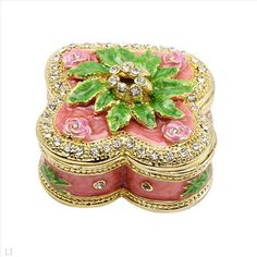 $14.00  Wonderful Accessories with Stal Made of Yellow Base metal and Multicolor Enamel 1.9in